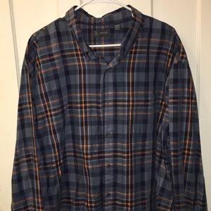 Men's Arrow Button-up Shirt Size XXL